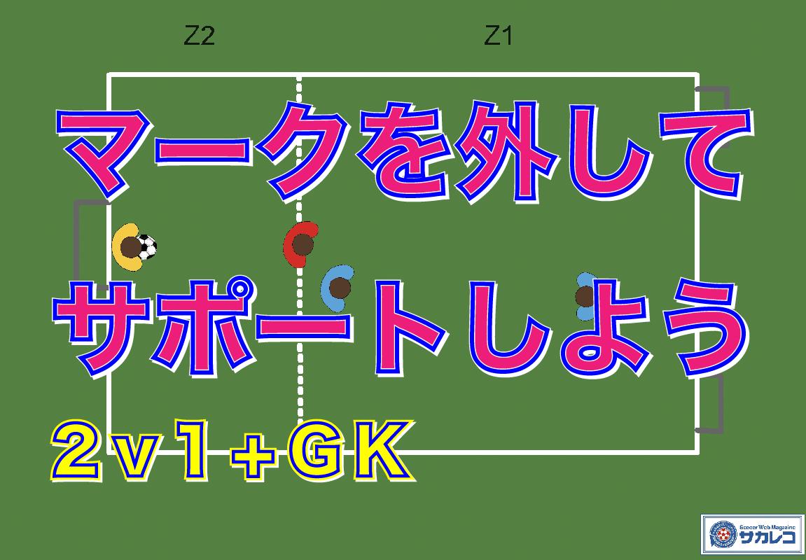200630_トレーニング_【U8】マークを外すトレーニング